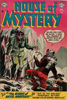House of Mystery #22. Click for current values.