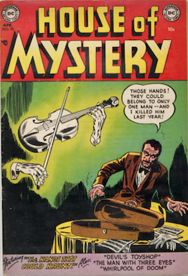 House of Mystery #25. Click for current values.