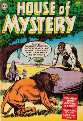 House of Mystery #29. Click for current values.