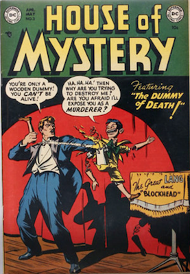 House of Mystery #3. Click for current values.