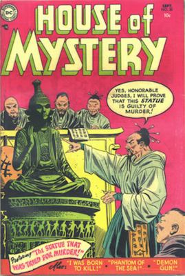 House of Mystery #30. Click for current values.