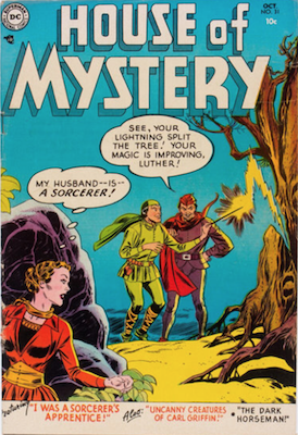House of Mystery #31. Click for current values.