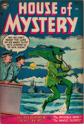 House of Mystery #32. Click for current values.