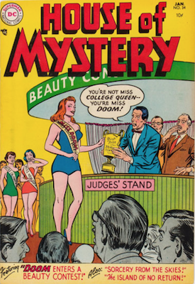 House of Mystery #34. Click for current values.