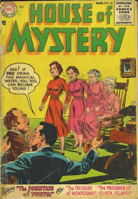 House of Mystery #36. Click for current values.
