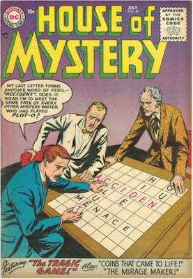 House of Mystery #40. Click for current values.