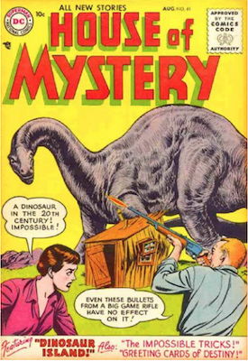 House of Mystery #41. Click for current values.