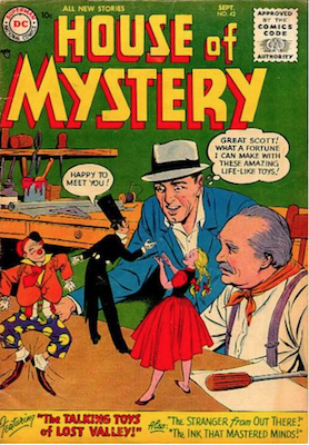 House of Mystery #42. Click for current values.