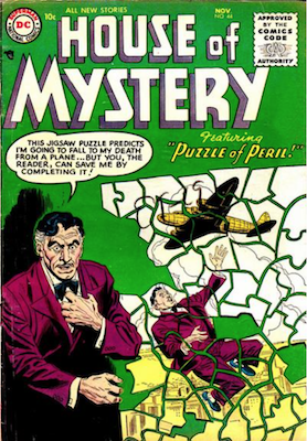 House of Mystery #44. Click for current values.