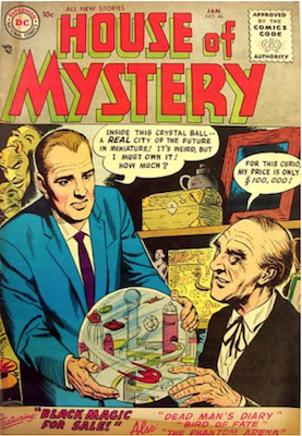 House of Mystery #46. Click for current values.