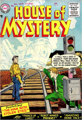 House of Mystery #47. Click for current values.