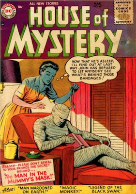 House of Mystery #48. Click for current values.