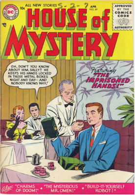 House of Mystery #49. Click for current values.