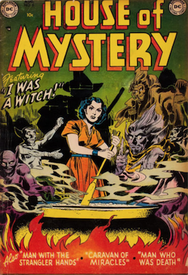 House of Mystery #5. Click for current values.