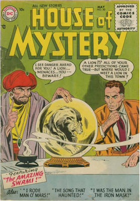 House of Mystery #50. Click for current values.