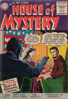 House of Mystery #51. Click for current values.