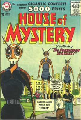 House of Mystery #53. Click for current values.