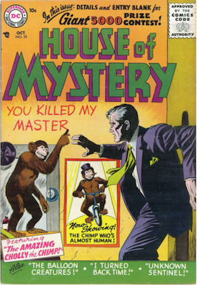 House of Mystery #55. Click for current values.