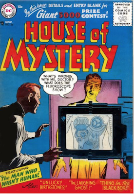 House of Mystery #56. Click for current values.