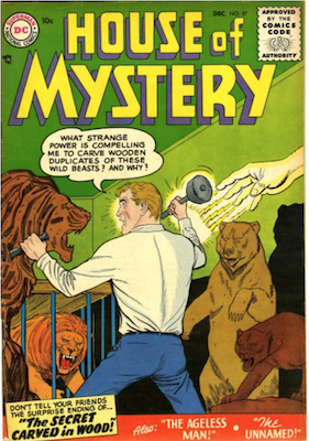 House of Mystery #57. Click for current values.