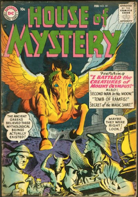 House of Mystery #59. Click for current values.