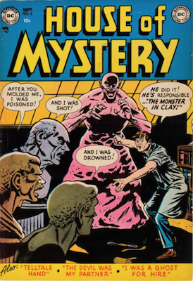 House of Mystery #6. Click for current values.