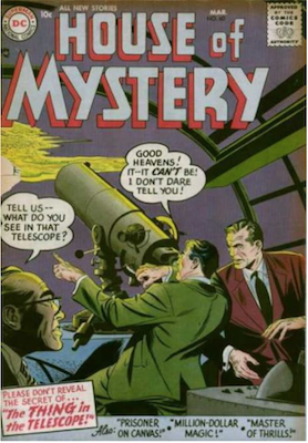 House of Mystery #60. Click for current values.