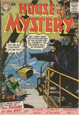 House of Mystery #61. Click for current values.