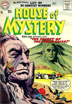 House of Mystery #62. Click for current values.