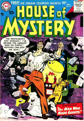 House of Mystery #67. Click for current values.