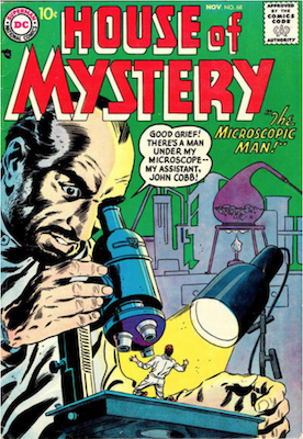 House of Mystery #68. Click for current values.