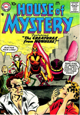 House of Mystery #70. Click for current values.