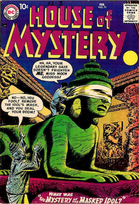 House of Mystery #71. Click for current values.