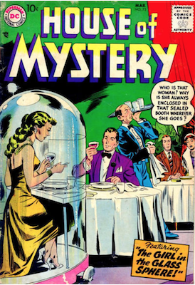 House of Mystery #72. Click for current values.