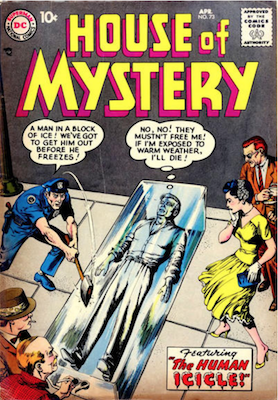 House of Mystery #73. Click for current values.