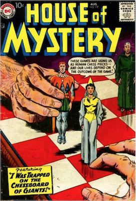 House of Mystery #77. Click for current values.