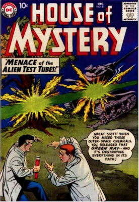 House of Mystery #81. Click for current values.