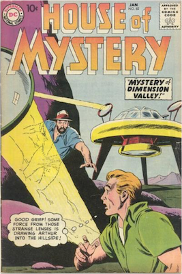 House of Mystery #82. Click for current values.