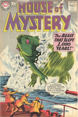 House of Mystery #86. Click for current values.