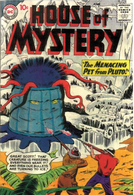 House of Mystery #87. Click for current values.