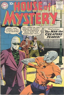 House of Mystery #88. Click for current values.