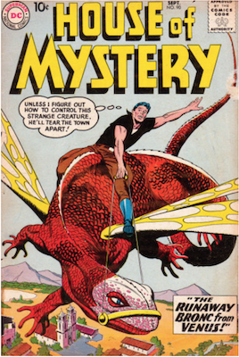 House of Mystery #90. Click for current values.