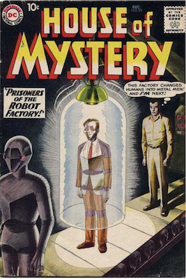 House of Mystery #93. Click for current values.