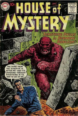 House of Mystery #98. Click for current values.