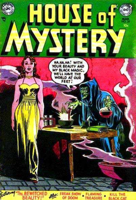 House of Mystery #24. Click for current values.
