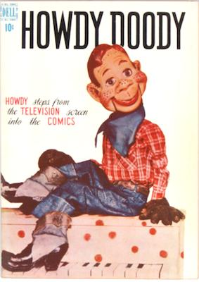 Howdy Doody #1 (1950). Dell Comics. Click for values