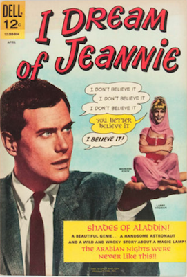 I Dream of Jeannie #1 (1966), Dell Comics. Click for values