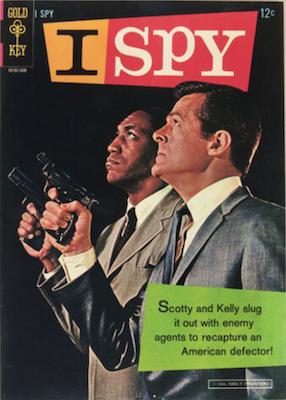 I Spy #1 (1966), Gold Key comics. Click for values