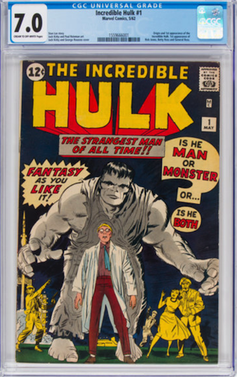 Wouldn't You Rather Own... Incredible Hulk #1 CGC 7.0?
