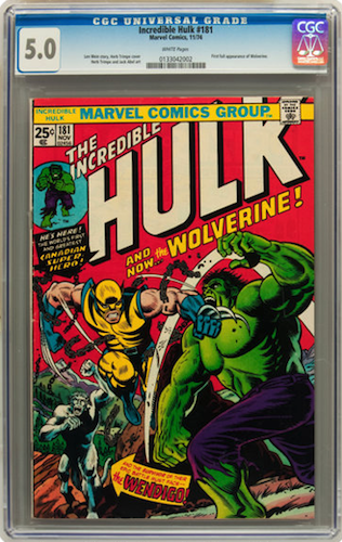 a CGC 5.0 starts to look a little more like a comic book rather than a random assortment of comic book faults. But it's still far from pretty